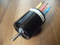 4 Poll Brushless Motor