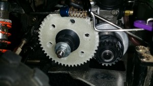 48T 3D Printed Spur Gear Installed