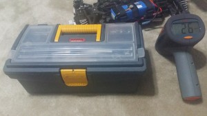 C Tool Box and Radar Gun