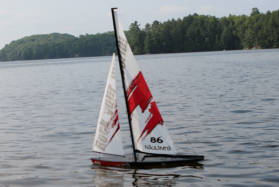 RC Sailboat - Getting Started -