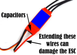 Cutting ESC Wires - Water Hammer Effect